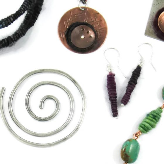 jewelry for yarn lovers