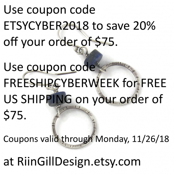 etsy coupon november 2018
